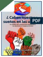 Análisis de las elecciones en Colombia 2014