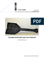 CRKT Trencher - A Tactical Entrenchment Tool