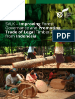 Indonesia Timber Legality Assurance System