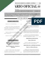 Diario Oficial El Salvador 26 Oct 2015