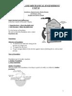 Basic Civil and Mechanical UNIT II-p1