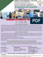 Nano Summer Internship 2k16