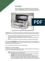 How Inkjet Printers Work