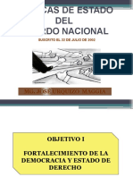 Clase 4 - Políticas de Estado - Acuerdo Nacional