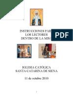 ICSCS, Instrucciones para los lectores dentro de la misa.pdf