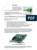 How Sound Cards Work