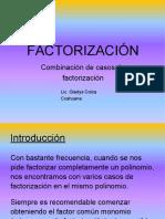 Factorización II Parte