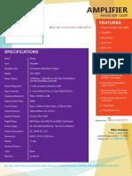 Ahuja SSB-120DP Features & Specifications – securekart