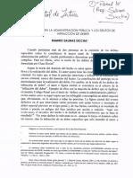 Control de Lectura-Salinas Siccha-Delitos Contra La Administración Pública y Los Delitos de Infracción de Deber