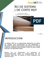 Presentación Mesa de Corte MDF Jorge Betancur - Diego Barrera TERMINADO