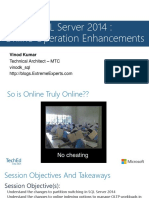14-Mar-2015-SQL Server 2014 Online Operation Enhancements