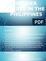 gender issues in the philippines