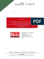 El Reto de La Calidad en La Investigacion Social Cualitativa de La Retorica a Los Planteamientos de Fondo y Las Propuestas Tecnicas