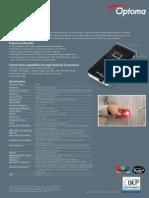 IBJSC.com | I-WEB.com.vn - Optoma PK201 Datasheet