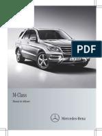 Manual de Utilizare Clasa M W166