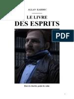 Hippolyte Léon Denizard Rivail Le Livre Des Esprits 1857 Jys