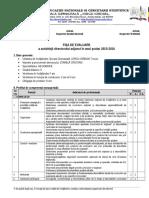 Fisa Evaluare Director Adjunct