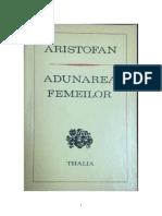 Aristofan - Adunarea Femeilor