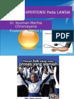 105971184 Penyuluhan HIPERTENSI Pada LANSIA Martha Chrismayana