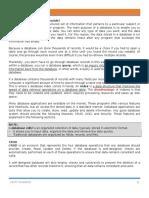 Basics of Database