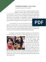 Objectivity in Historical Analysis by Subroto Mukerji
