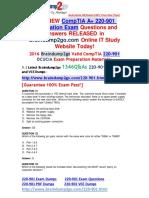 [CompTIA Official]2016.Jul. New 220-901 PDF Dumps 1346q Offer 31-40
