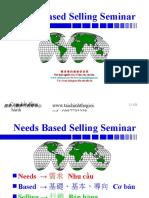 Needs Based Selling Seminar