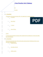 NEET Model Papers Free Practice Set 2 Botany