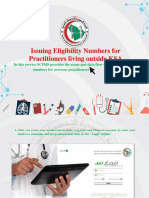 Issueing Eligibility Numbers