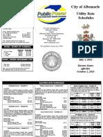 City-of-Albemarle-City-of-Albemarle-Tariffs