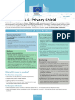 Factsheet US-EU Privacy Shield