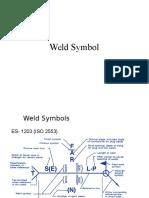 Weld Symbols