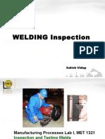 WELDING - Inspection