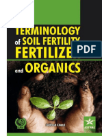 Subhash Chand-Terminology of Soil Fertility, Fertilizer and Organics-Daya Pub. House (2014)