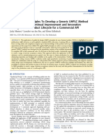 Org. Proc. Res. Dev. 17, 87-96 (2013)-Applying QbD Principles to Develop a Generic UHPLC Method