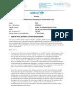 VA 497895 Administrateur de Programme HACT Conakry Guinee