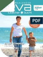 EVA ist der Eventkalender für die Lübecker Bucht - EVA August 2016