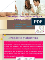 Investigación Epidemiológica Casos y Controles