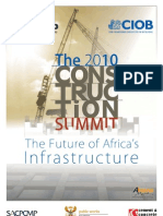 Construction Summit Programme