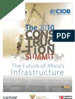 Construction Summit Programme