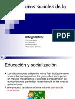 Las Funciones Sociales de La Escuela