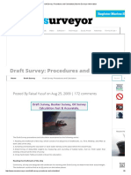 Draft Survey_ Procedures and Calculation _ Marine Surveyor Information