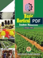 Basic Horticulture-II Student Handbook Class-XII