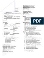 Oncology Nursing Handouts 1