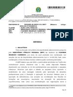 Condenação Cleuber Carneiro - Processo n° 0004205-20.2009.4.01.3807
