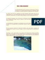 Río Melendez Informe