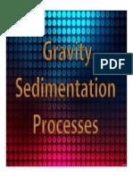 Topic 06 Gravity Sedimentation