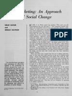 Social Mkt Kotler 1971