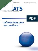 Bulats test en français
