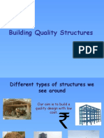 building quality structure